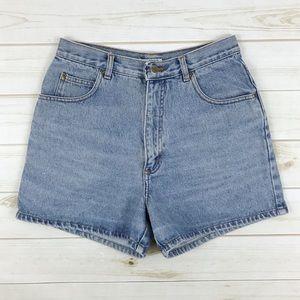 <Vintage> Denim Shorts High Waist Grunge Mom Jeans